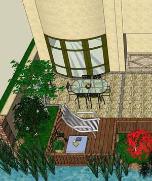 私家花园设计图