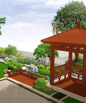 品质下的别墅庭院设计生活,让悠闲无处不在