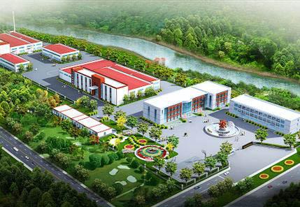厂区景观设计图