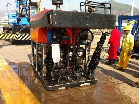 作业型遥操作ROV测控系统