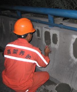 上海內環高架道路防撞墻、立柱修補(秀樸?SJ20F)