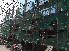 上海水利工程部砼柱加固項目