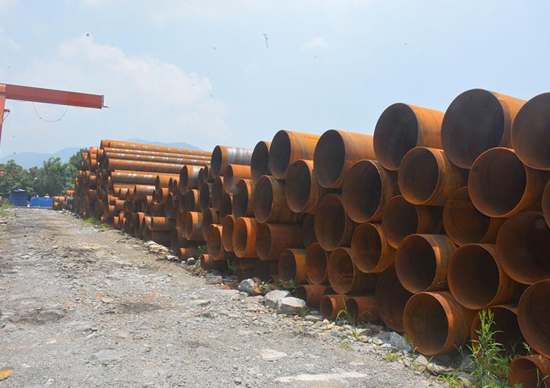 福建小口径螺旋钢管的焊接与切割