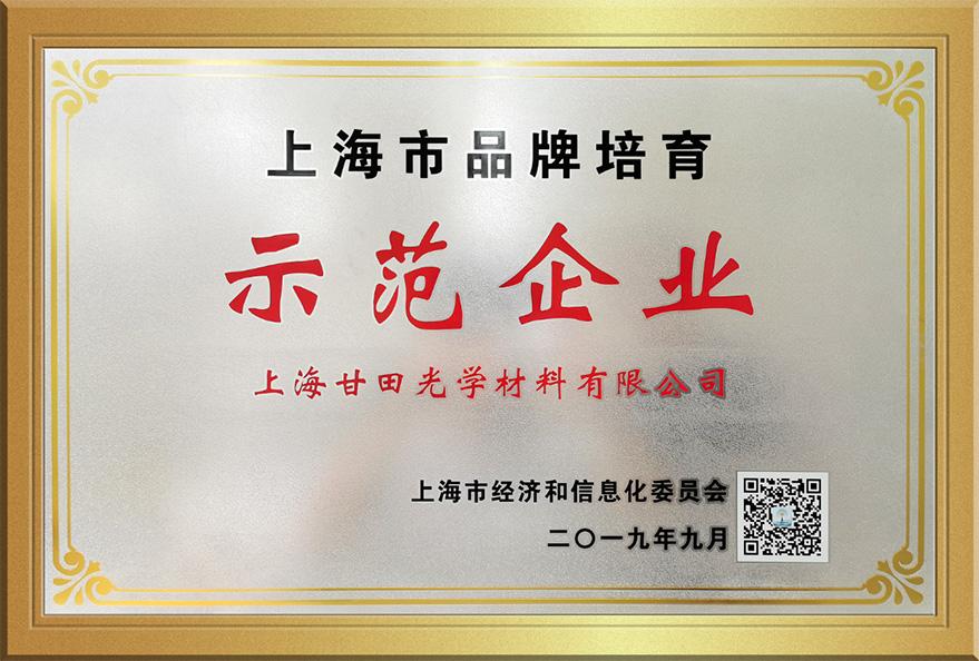 上海市品牌培育示范企業