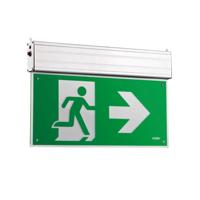 DJ-01K 钢化玻璃吊牌标志灯