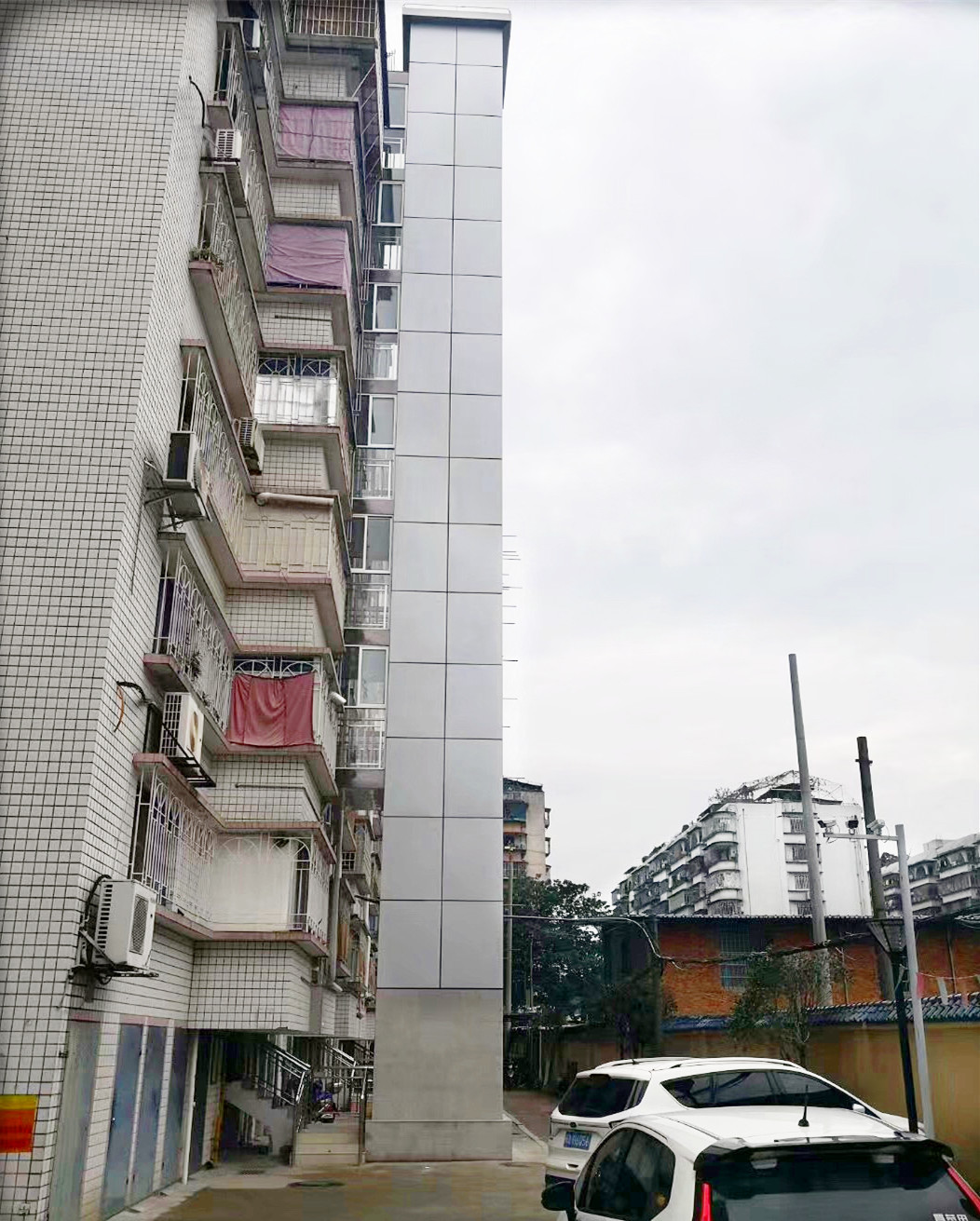 新华体育公寓加装电梯