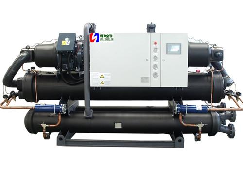 双机头水源热泵机组