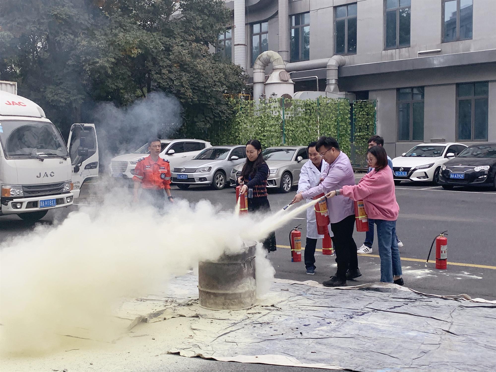 杭州休普 | 開展冬季消防演練