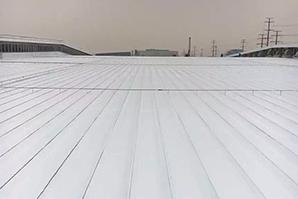 屋面彩钢板翻新涂装