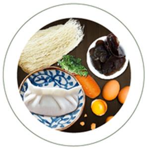 哈尔滨五福馅水饺的做法