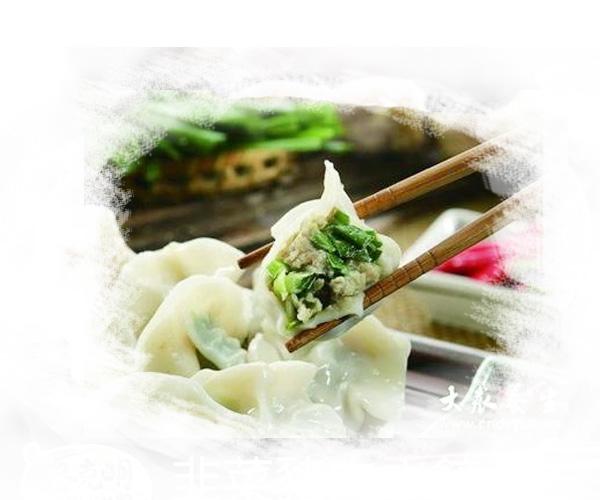 哈尔滨香菜肉馅水饺的做法,回味无穷