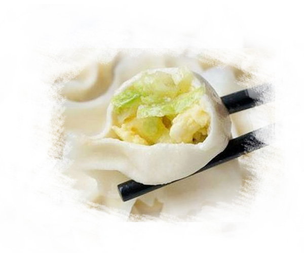哈尔滨西葫芦鸡蛋馅饺子的做法美味难挡