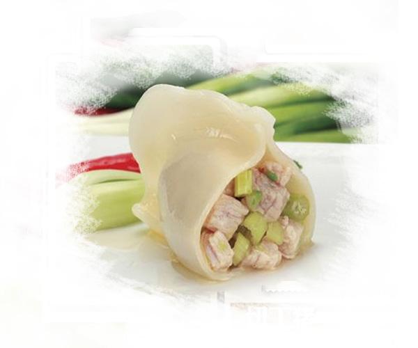 哈尔滨芹菜肉馅水饺的做法,好吃
