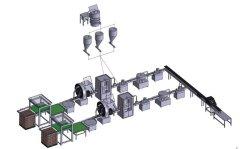 自动配料混合生产线