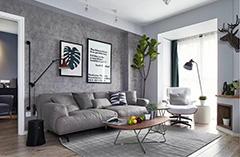 北欧风格效果图--贾增贵家装设计师