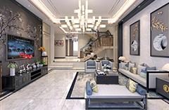 沂源別墅新中式--賈增貴家裝設計師