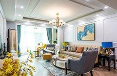 120平三室两厅装修,诗意的美式风格