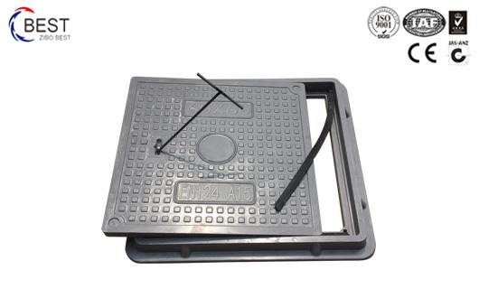 500x500MM A15 普通型高分子树脂SMC井盖