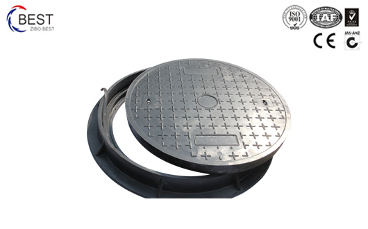 900x50MM D400 重型高分子树脂SMC井盖