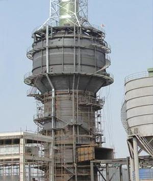 塔式脱硫配湿电除尘