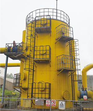 9500x4500型焦化煤气干法脱硫