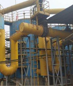 三级串联并用煤制气干法脱硫