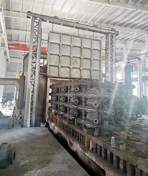 临沂市莒南县友园机械蓄热式退火炉SCR+SNCR脱销+布袋除尘烟气超低排放治理