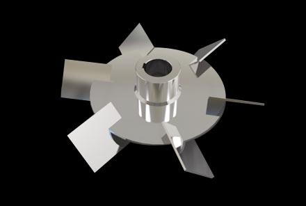 斜叶圆盘涡轮桨