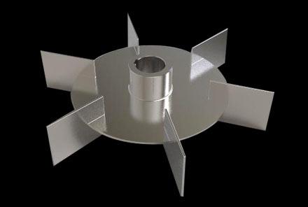 直叶圆盘蜗轮桨