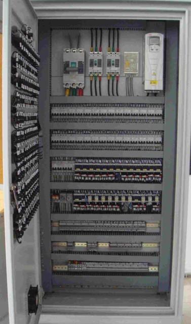 变频控制柜组成结构有几部分?
