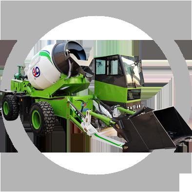 聚峰机械保证小型搅拌车的出厂全部合格