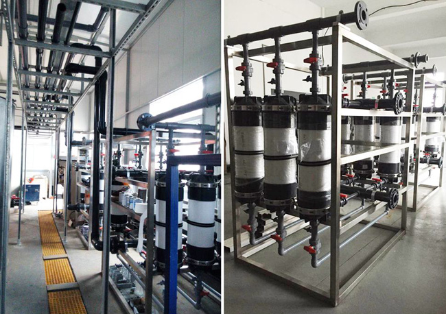氨氮废水处理技术现场图片