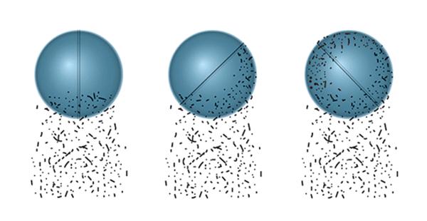 高效旋球除尘器工作原理