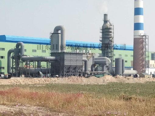 青海和兴炭素除尘、脱硫项目