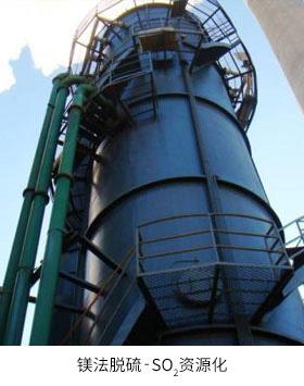 镁法脱硫-SO2资源化