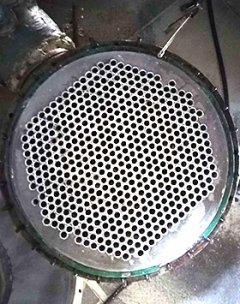 化工厂加热器清洗完效果